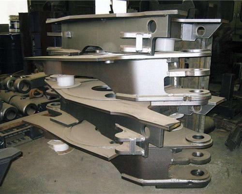 钢结构件加工厂